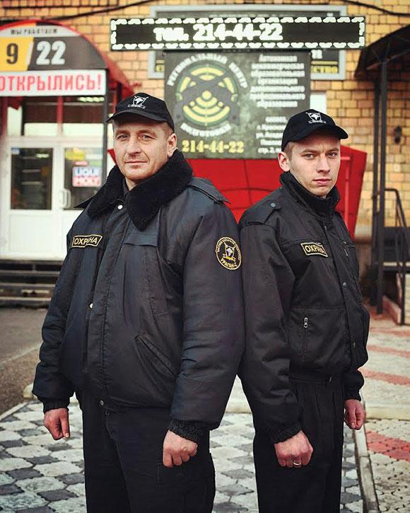 Учится на охранника омск